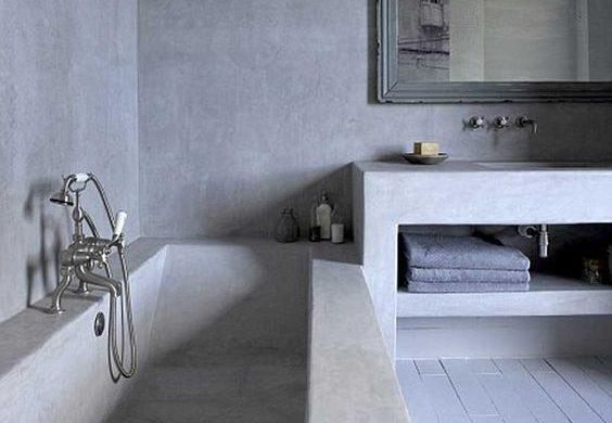 Mikrocement w łazience- nowoczesny wystrój Twojego wnętrza