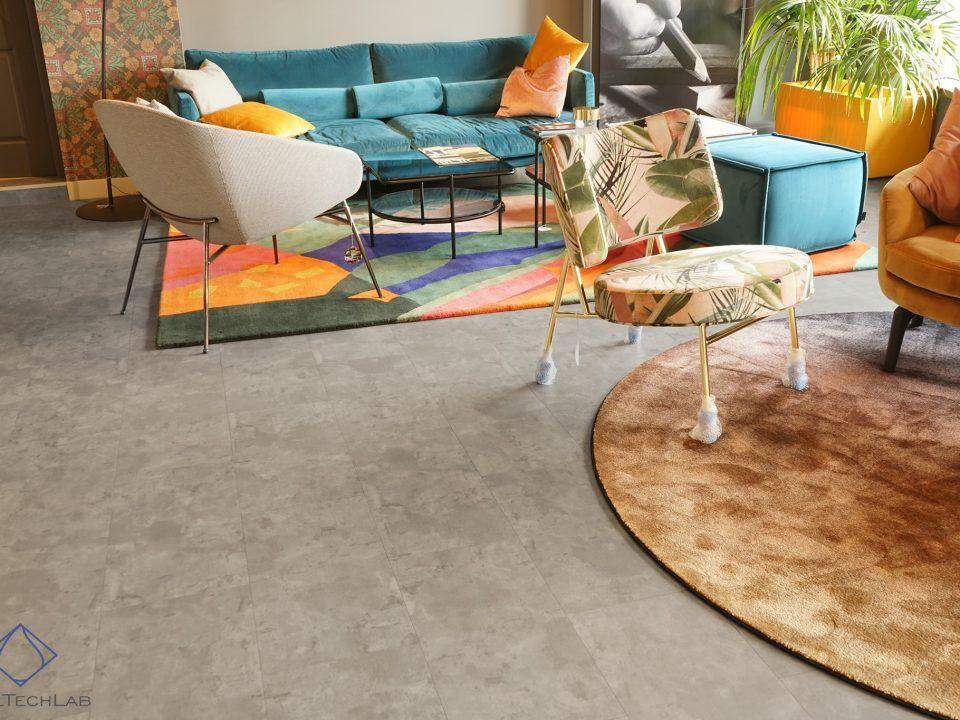 Płytki winylowe imitujące beton